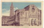 CPA Toulouse Basilique Saint Sernin En Couleur !!!! TBE - Toulouse