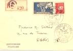 331 Cachet   Journée Du Timbre 1943 Paris - Postmark Collection (Covers)