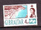 GIBRALTAR, 1960, 4d, MH * - Gibraltar
