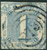 Allemagne Tour Et Taxis Etats Du Nord (1859) N 9 (o) - Tour Et Taxis