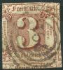 Allemagne Tour Et Taxis Etats Du Nord (1859) N 11 (o) Touché A Gauche - Tour Et Taxis