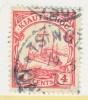 Kiauchau 35  (o)   Wmk - Colony: Kiauchau