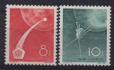 1960-CINA-ESPACE-2  VAL. - Nuovi