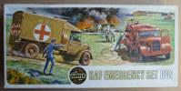 RARE MAQUETTE AIRFIX HO BOITE RAF EMERGENCY SET 1973 FIGURINE WWII
