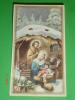 Semestrino-calendarietto Anno1962 / 6 Mesi - NATALE Gesù Bambino Presepio - Santino - Calendari