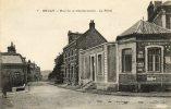 CPA - 62 - BRUAY - Rue De La Gendarmerie - La Poste - 177 - France
