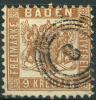 Allemagne Bade (1862) N 19 (o) - Baden