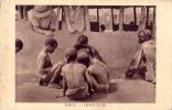 CPA Carte Postale Ancienne AFRIQUE MOZAMBIQUE ZAMBEZE Enfant Au Jeu Enfant TBE - Mozambique