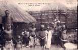 CPA Carte Postale Ancienne AFRIQUE MOZAMBIQUE Mission Du Shiré Scène De Village Animée - Mozambique
