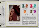 Mi.N° 2299A - 2311A 13 Werte 1982, Liberté Auf 2 Groß-FDC In Din4 Format Als Premier Jour De Collektiv - FDC