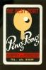 Speelkaart ( 495 ) Wijn Likeuren Likeur Vin Vins Liqueurs Liqueur Distillerie Stokerij - Ping Pong Tafeltennis - Speelkaarten