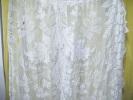 Grand Rideau A Restaurer Ou A N´utiliser Que Les Belles Parties-largeur 112x 250 -..........(3) - Rideaux