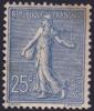 25c Semeuse Lignée Neuf ** Sans Charnière (Y&T N° 132 , Cote: 225€) - 1903-60 Semeuse Lignée