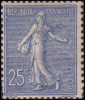 25c Semeuse Lignée Neuf * TB (Y&T N° 132 , Cote: 84€) - 1903-60 Semeuse Lignée