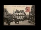 35 - FOUGERES - Place Du Théâtre Et Rue Porte Roger - 4040 - Fougeres