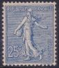 *PROMO* 25c Semeuse Lignée Neuf * TB Et Très Bien Centré (Y&T N° 132 , Cote: 168€) - 1903-60 Semeuse Lignée