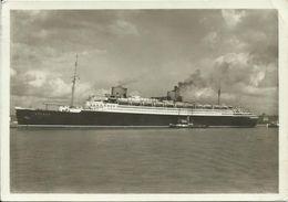 AK Schiff Turbinen-Schnelldampfer Bremen 1935 #53 - Paquebots
