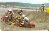 MAN-156 TARJETA DE LA ISLA DE MAN DE ROAD RACING (MOTO) - Isla De Man