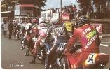 MAN-155 TARJETA DE LA ISLA DE MAN DE ROAD RACING (MOTO) - Isla De Man