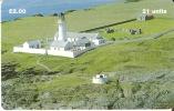 MAN-143 TARJETA DE LA ISLA DE MAN DEUN FARO (LIGHTHOUSE) - Isla De Man