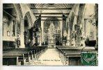 35 PIRE Interieur Eglise Du Bourg Chaire Autel 1908 écrite De PIRE    -D2312011 - Autres Communes
