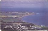 MAN-9 TARJETA DE LA ISLA DE MAN GREAT NORTH BEACH - Isla De Man