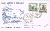 Carta Certificada VILLAGARCIA De AROSA (Pontevedra) 1972 - 1931-Hoy: 2ª República - ... Juan Carlos I