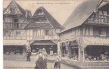 19213 NANCY. EXPOSITION. LE VILLAGE ALSACIEN . 16 Imp Réunies -confiserie F Lalonde