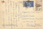 "CP De La AOF Vers Torino Sur Carte Postale De La "" Società Di Navigazione "" 1960? Voir 2 Scan - Otros"