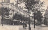 Dép. 71 - CHALON-sur-SAONE. - Hôtel Moderne. Boulevard De La République. Ed. Bourgeois Frères. Voyagée 1914 - Chalon Sur Saone