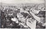 63. Cpsm. Pf. Vue Générale Sur Le Parc De L'Etablissement De ROYAT, Les Grands Hôtels Et Clermont-Ferrand. 249 - Royat