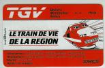 HORAIRE DES TRAINS SNCF TGV BEZIERS / MONTPELLIER / NIMES - PARIS SEPT-JUIN 1991 - Europe
