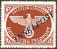 Germany Michel #10ab Mint Never Hinged Inselpost, Expertized By Dr. Dub  (38 Degrees) - Occupation 1938-45
