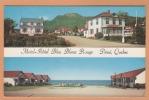 Percé  ( Hotel Motel Bleu Blanc Rouge )  Quebec Canada Postcard Carte Postale CPA Post Card - Quebec
