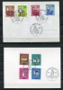 Germany 1968,1969,1971 4 Postal Cards With Special First Day Cancel Coimplete Sets. - [5] Berlin