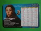 Calendarietto Anno 2010 - Basilica S.ANTONIO Da PADOVA - Santino / Plastificato - Calendarios
