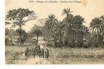 AFRIQUE OCCIDENTALE - Entrée D´un Village -   FORTIER N° 278-Recto Verso-Paypal Sans Frais - Cartes Postales