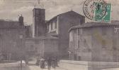 13 /  TOP BANLIEUE DE MARSEILLE / SAINT MARCEL / LA PLACE ET L EGLISE / TRES JOLIE CARTE - Saint Marcel, La Barasse, Saint Menet