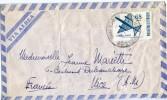 ARGENTINE Lot De Deux Lettres Par Avion Dont 1 Surchargé - Argentine