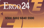 GREECE - Ergobank Debit Card, Sample - Cartes De Crédit (expiration Min. 10 Ans)