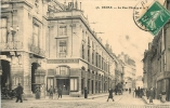51 REIMS LA RUE CHANZY ET LE THEATRE - Reims