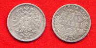 ALLEMAGNE - DEUTSCHLAND - GERMANY - 1 MARK 1875 A - [ 2] 1871-1918: Deutsches Kaiserreich