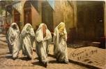 Tunis : Jeunes Filles Arabes - Tunesië