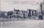 Herbecourt-ruines De L'église-la Grande Guerre 1914-16-cpa - Autres Communes