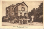 CPA 14 DIVES SUR MER HOTEL RESTAURANT DE LA MER  RARE BELLE CARTE !! - Dives