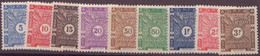 Côte Des Somalis N° 11 à 20**  TAXE  SAUF LE N°15   Neuf Sans Charniere - Côte Française Des Somalis (1894-1967)