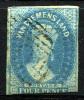 TASMANIA 1857 Unwmk - Yv.8 (Mi.8, Sc.9) Used - Gebraucht