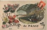 Cpa77  Passy Un Bonjour - Andere Gemeenten