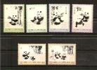 CHINE,Y-T 1869 à 1879** MNH,thème Ours Pandas Géants - Neufs