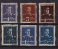 ROMANIA 1940 KING MICHAEL 6 ITEMS PREMIUM UNMOUNTED MINT MNH - 1918-1948 Ferdinand, Charles II & Michael